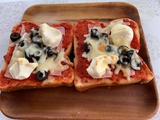 お家ご飯 ピザトースト