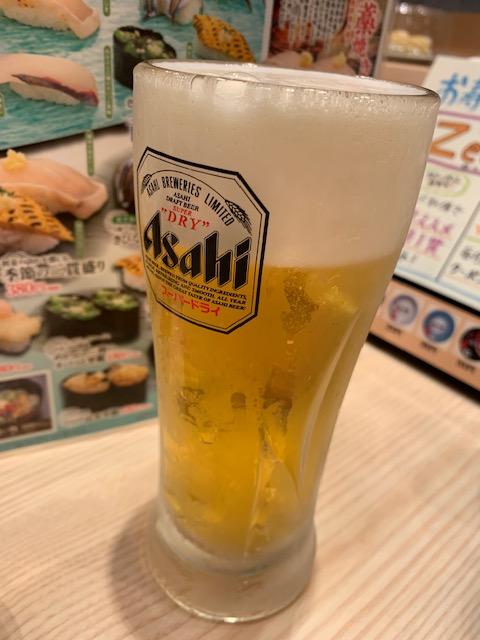 父の日 ビール 寿司屋