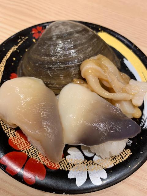 寿司 生ほっき貝 susi