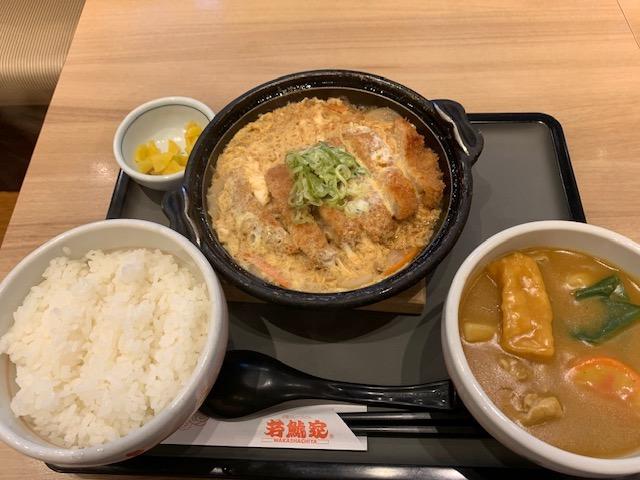 カツ鍋定食