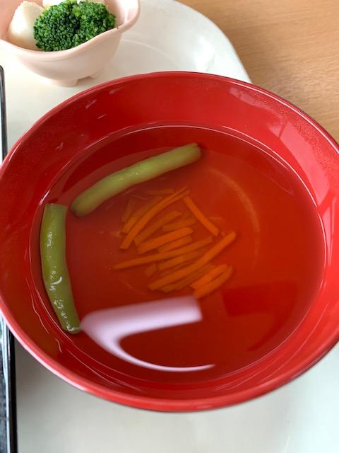 スープ いんげん にんじん