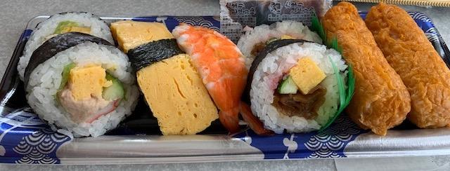 寿司詰め合わせ いなり 太巻き たまご えび