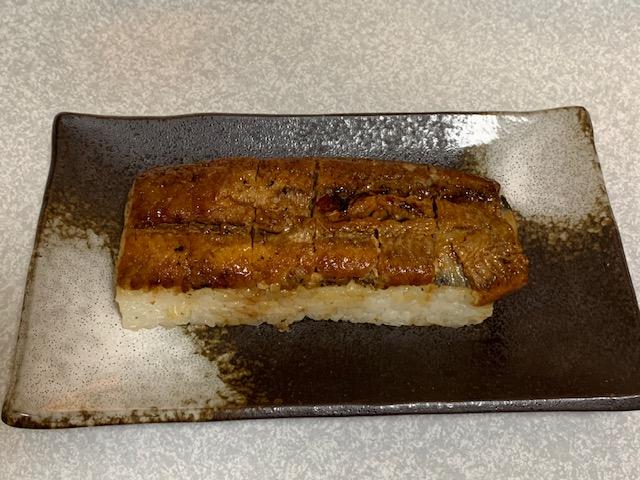 煮うなぎ棒寿司