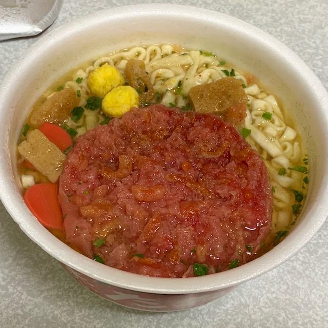 赤い天ぷら