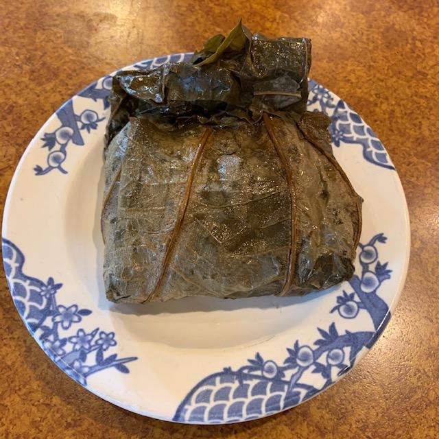 中華おこわの蓮の葉包
