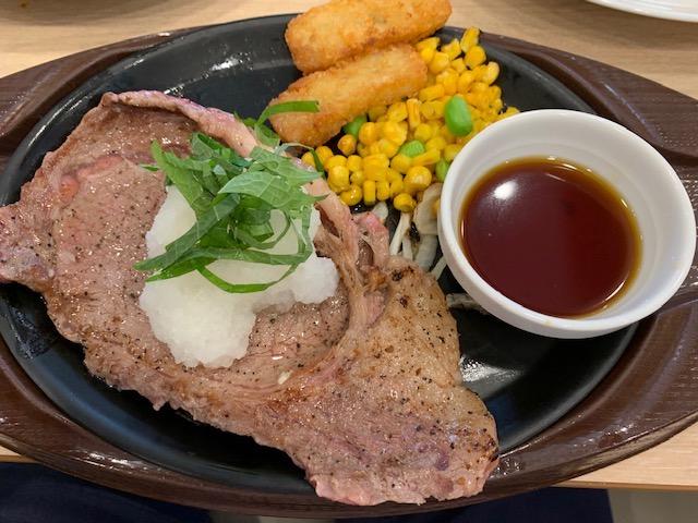 牛リブロースステーキあめ色たまねぎのソース〜新しいおいしさシャリアピンソース〜