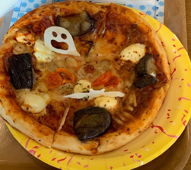 ハロウィーンピザ