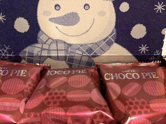 冬のチョコパイ