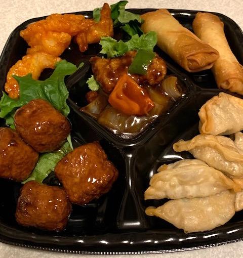 中華惣菜5点盛り合せ