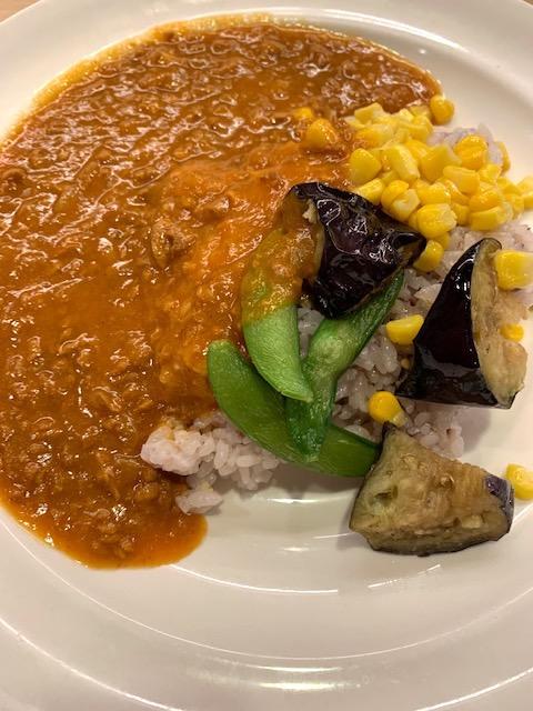 お野菜と十三穀米のベジキーマ