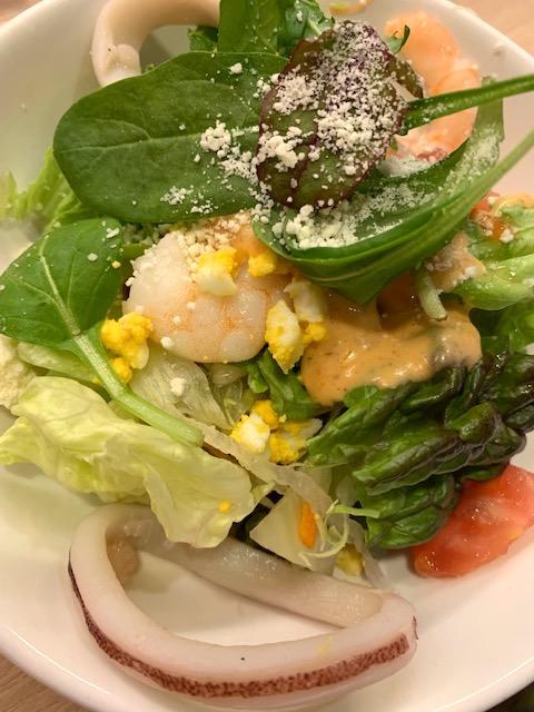 海老といかのシーフードサラダ(S)