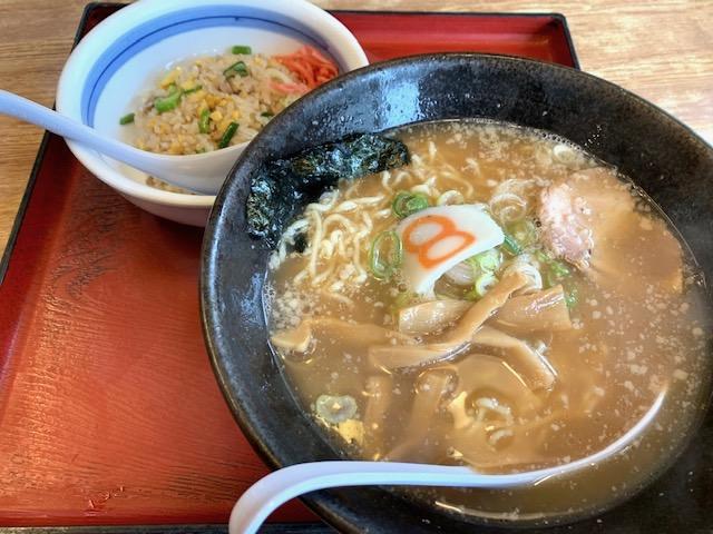 中華麺炒飯セット