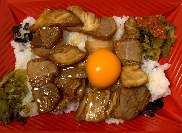 炙り焼豚高菜ご飯