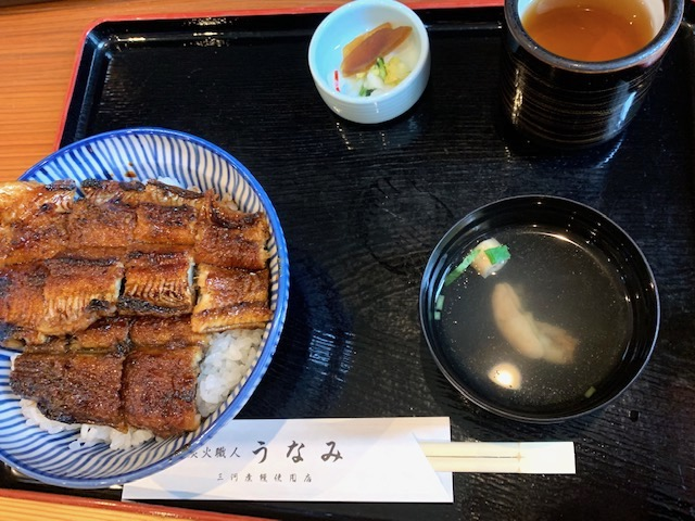 鰻丼(上)